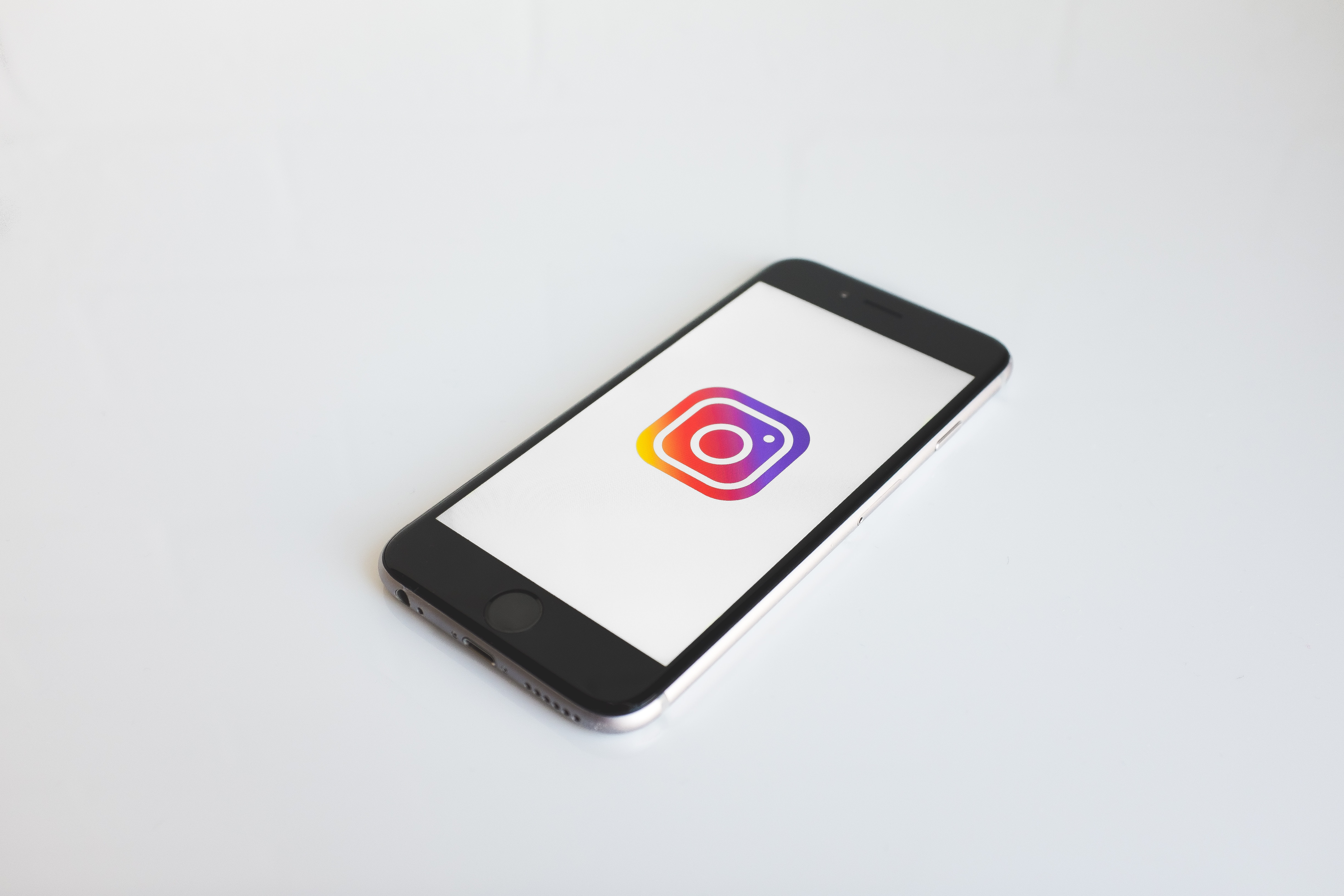 Instagram TV Logo on a phone